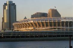 Three Rivers Stadium no Rio Ohio, Cincinnati, OH Imagem de Stock