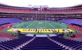 Three Rivers Stadium. Old Three Rivers Stadium, Pittsburgh, PA royalty free stock images