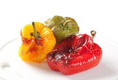 Roasted peppers Royalty Free Stock Photos