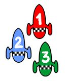 Three rocket Stock Photo