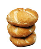Three rolls bread Royalty Free Stock Images