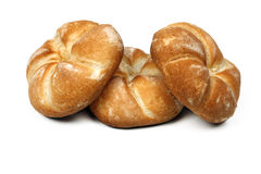 Three rolls bread Stock Image