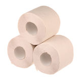 Three rolls of paper Royalty Free Stock Photo