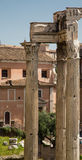 Three Roman Columns Royalty Free Stock Photography