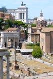 Three Roman Epochs At Once, Italy Stock Photos