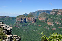 The Three Rondavels. Epic View at Panorama Route, South Africa Stock Photo
