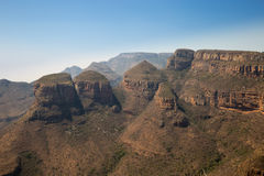 The Three Rondavels, Blyde River Canyon, South Africa Royalty Free Stock Photo