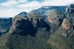 Three Rondavels at Blyde river Canyon Stock Images