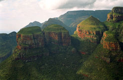 The three rondavels, Blyde River Nature Reserve, South African R Royalty Free Stock Image