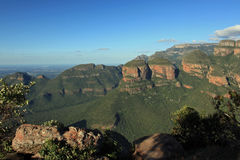 Three Rondavels in Mpumalanga Stock Images