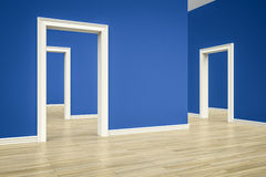 Three rooms Royalty Free Stock Images