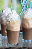 Three Root Beer Floats Royalty Free Stock Image