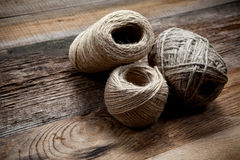 Three rope coils Stock Images