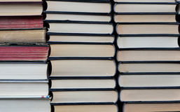 Three row of books Royalty Free Stock Photography