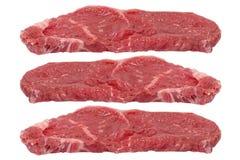Three Rump Steaks Stock Images