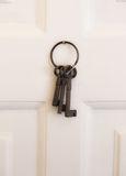 Three rusty keys Stock Image