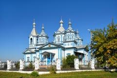 Three Saints Church. Pryluky, Chernihivs'ka oblast, Ukraine Royalty Free Stock Photography