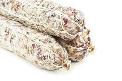 Three salami Royalty Free Stock Photography