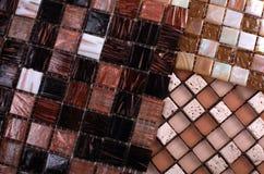 Three samples of mosaic Royalty Free Stock Image