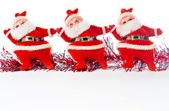Three Santa Claus Stock Photos