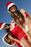 Three  Santa Clause Stock Images