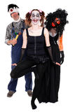 Three scary creatures concept halloween Royalty Free Stock Photo