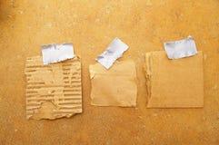 Three scraps Stock Photography