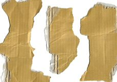 Three scraps Royalty Free Stock Images