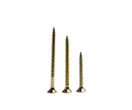 Three screws Stock Photography
