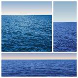 Three sea Stock Photos