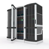Three_servers Royalty Free Stock Photo