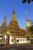 Three  sharp pagoda Royalty Free Stock Photos