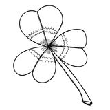 Three-sheeted clover Royalty Free Stock Photos