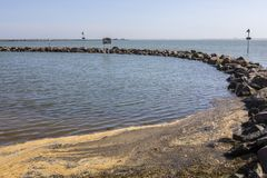 Three Shells Lagoon in Southend-on-Sea. The Three Shells Lagoon in Southend-on-Sea in Essex, UK Stock Photos