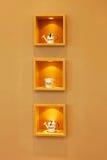 Three shelves Royalty Free Stock Photography