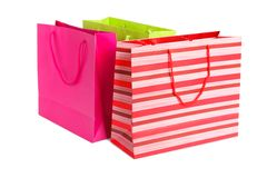 Three shopping bag Stock Photo