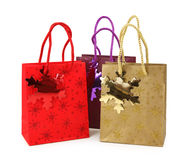 Three shopping bags Stock Images