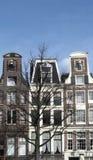 Three similar buildings Stock Image