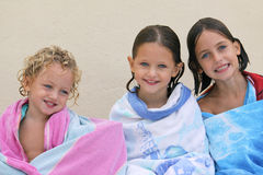 Three sisters Stock Photography