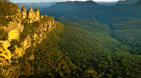 The Three Sisters.  Royalty Free Stock Photos