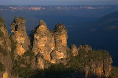 The Three Sisters Royalty Free Stock Photos