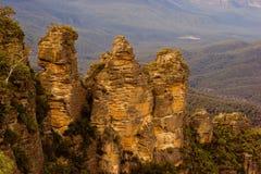 Three Sisters. The Three Sisters at Katoomba, Blue Mountains, New South Wales, Australia Royalty Free Stock Photos