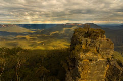 Three Sisters in Australia Royalty Free Stock Photography