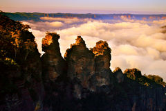 The Three Sisters, Australia Stock Photo