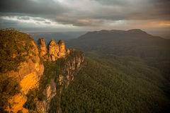 Three Sisters, Australia Royalty Free Stock Image