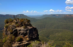 Three Sisters, Blue Mountains. The Blue Mountains National Park is a national park in New South Wales, Australia Royalty Free Stock Images