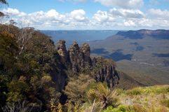 Three Sisters, Blue Mountains, Australia Stock Images