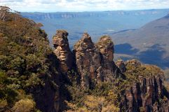 Three Sisters, Blue Mountains, Australia Royalty Free Stock Photos