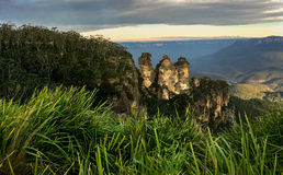 Three Sisters, Blue Mountains from Echo Point Lookout Stock Image