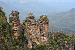 Three Sisters Blue Mountains IMG_0004 Royalty Free Stock Photos